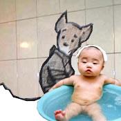lil_dawg likes the bathing buddha