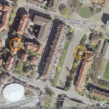 Google Earth has introduced sharper, more detailed images for the region of bern and lookee here, i was able to find my car parked … on optingenstrasse. the problem is, […]
