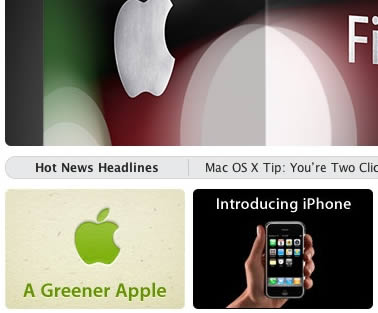 "yesterday apple put the ""a greener apple"" banner on their front page, linking to an open letter by steve jobs explaining the companies strategy to become greener. Today is the […]"