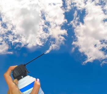 spray cloud