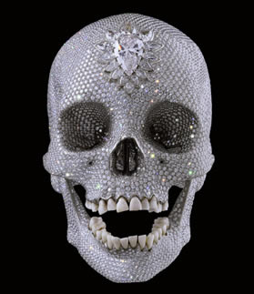 damien hirst: for the love of god,