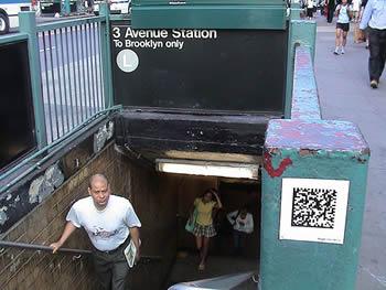 semacode tour through NYC
