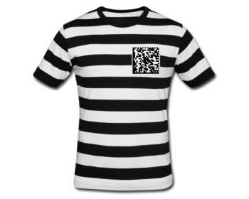 semacode tshirt