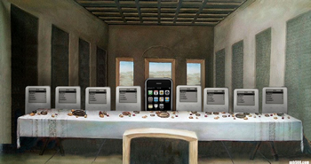 iPhone last supper