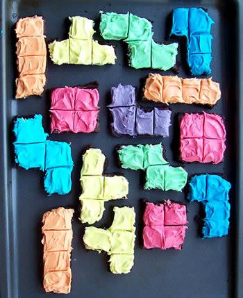 tetris brownies